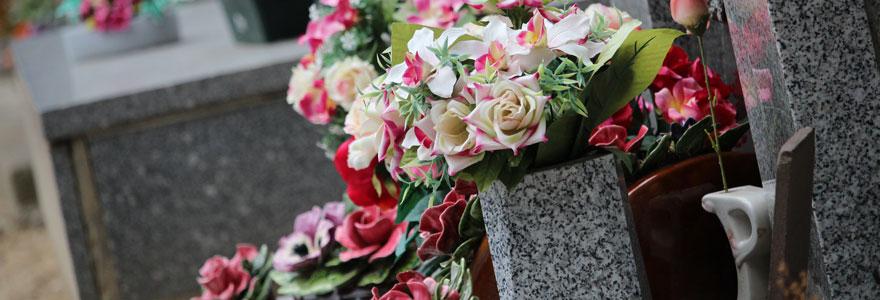 Fleurs pour un deuil
